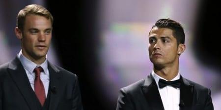 Photo de Ballon d'or 2014 : l'attitude honteuse de Neuer envers Ronaldo