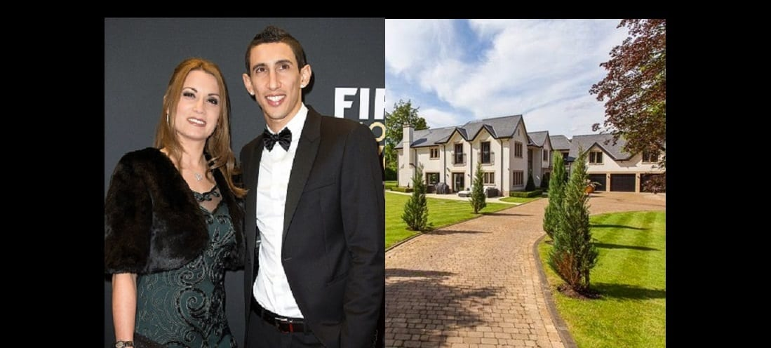 Photo de Angel Di Maria forcé à vendre son manoir de 6 millions d'euros à cause de sa femme