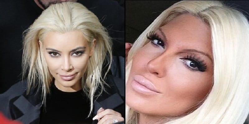 Photo de Une chanteuse Serbe accuse Kim Kardashian d'avoir volé son style
