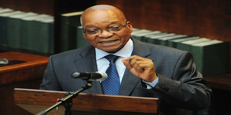 President Jacob Zuma officially opens the National House of Trad