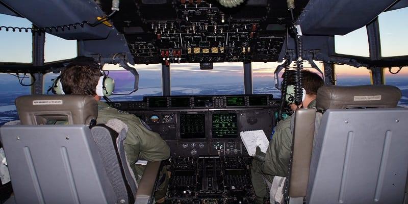 No. 37 Squadron cold weather trainer