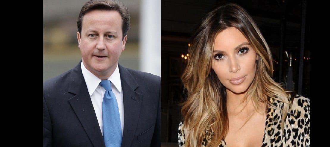 Photo de Le premier ministre britanique David Cameron révèle être le cousin de Kim Kardashian