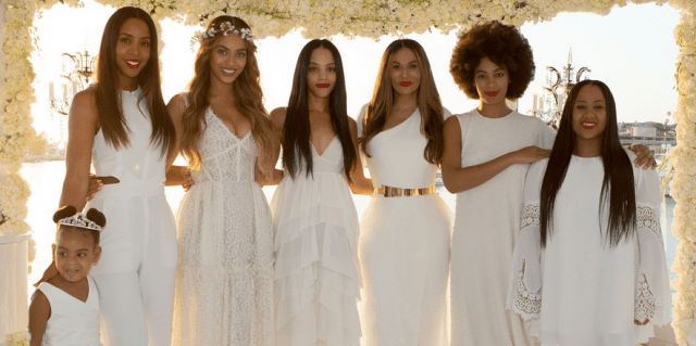 Photo de Voici photos exclusives de la cérémonie de mariage de Tina Knowles & Richard Lawson