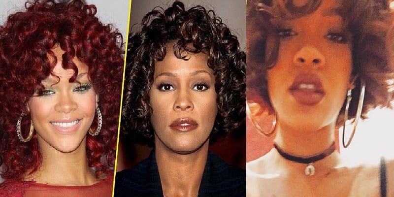 Dans Sa Nouvelle Coiffure Rihanna Ressemble T Elle A Whitney Houston Afrikmag