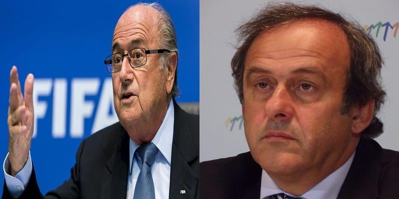 Photo de Sepp Blatter répond à Michel Platini, à la justice Américaine et aux autres détracteurs.