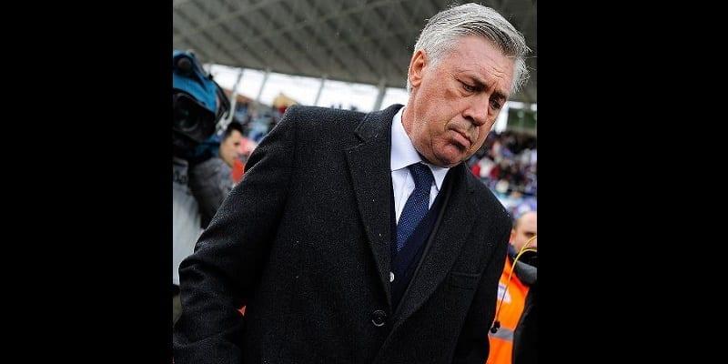 Photo de Sport/ Football : L'entraineur du réal Madrid Carlo Ancelotti a été limogé