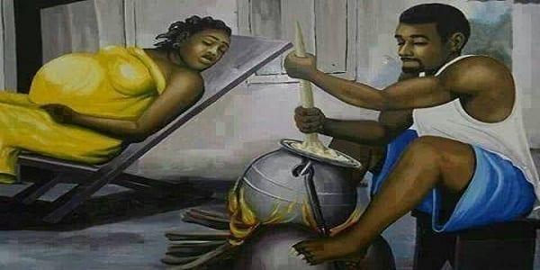 Photo de Combien d'hommes peuvent reproduire une telle cuisson lorsque la femme est enceinte et à terme ?