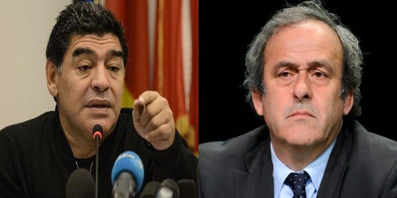 Photo de Corruption: Diego Maradona affirme que Michel Platini a «arrangé 187 matches»