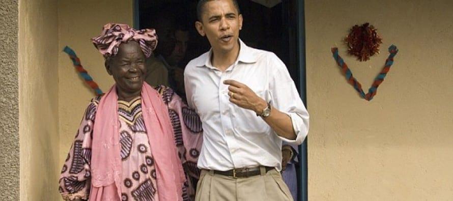 Photo de Barack Obama: Sa grand-mère prête à cuisiner pour lui lors de sa visite au Kenya