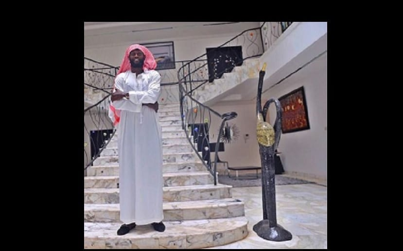 Photo de Emmanuel Adebayor: Il partage son premier message en tant que musulman(photo)