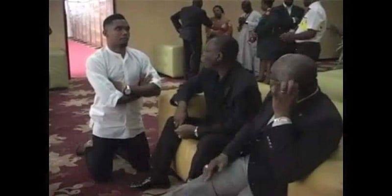 Photo de Malgré qu'il soit milliardaire, Samuel Eto'o nous démontre un grand signe d'humilité
