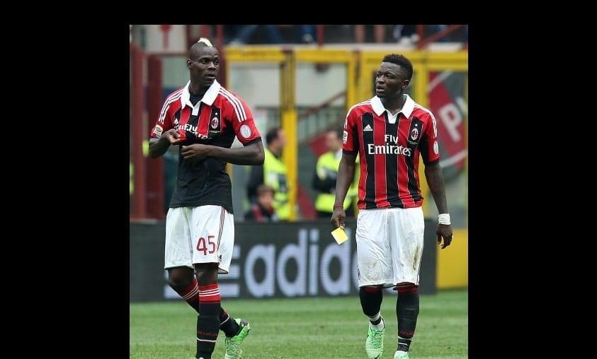 Photo de Sulley Muntari révèle pourquoi Balotelli ne joue pas pour les Black Star du Ghana!