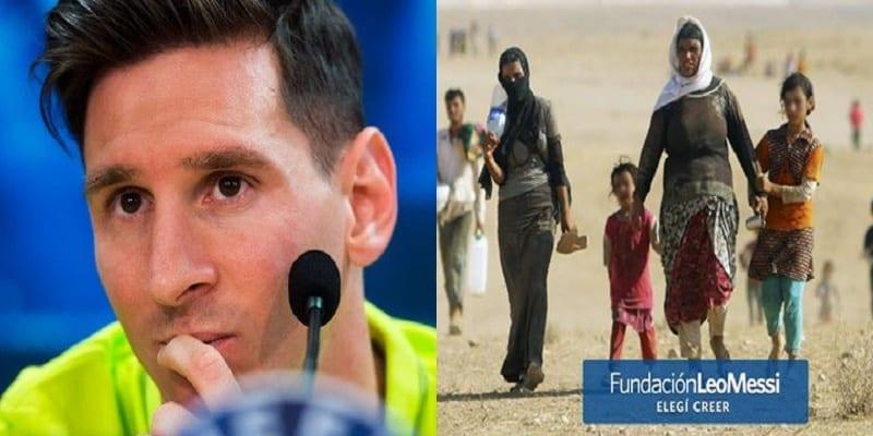 Photo de Voici ce que Lionel Messi pense des milliers de réfugiés qui émigrent vers l'Europe