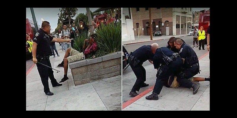 Photo de USA : un adolescent noir arrêté et frappé par la police