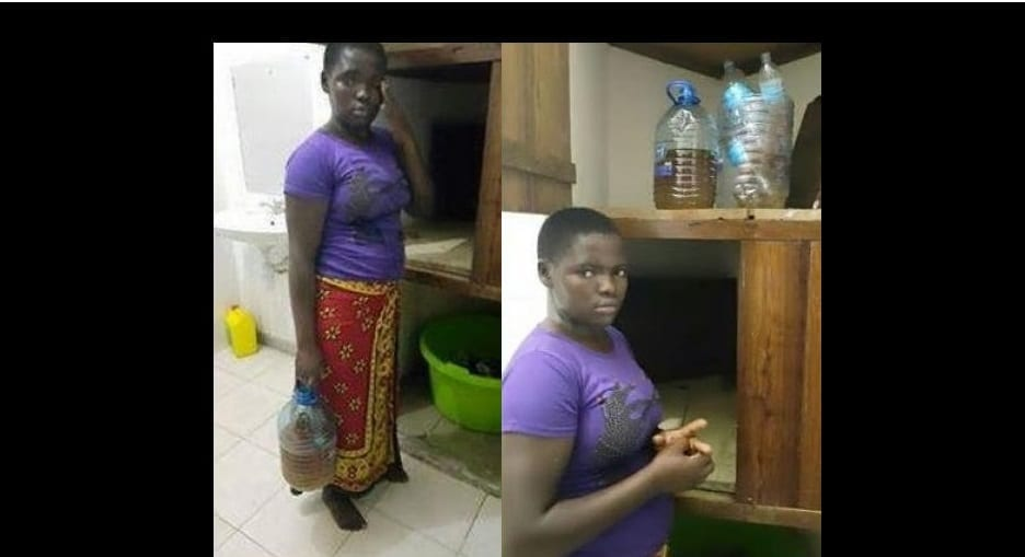 Photo de Kenya: Cette fille de ménage utilisait son urine pour cuisiner pour ses patrons (PHOTO)