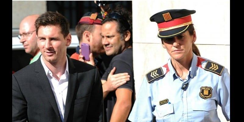 Photo de Espagne : pour un détournement de 4.16 millions d'euros, Lionel Messi pourrait aller en prison