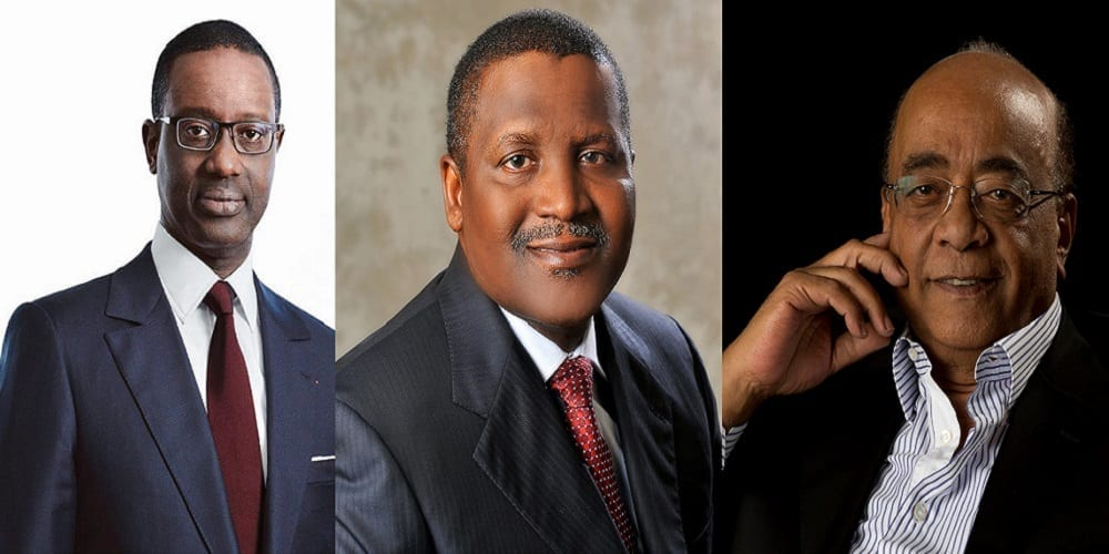 Photo de Voici les trois africains les plus influents dans le monde economique