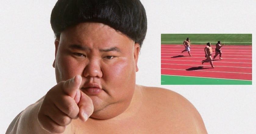 Photo de Avouons-le: ces trois lutteurs de sumo sont plus rapides que la plupart d'entre nous!