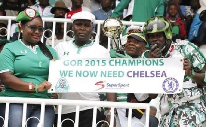 Photo de Les champions kényans lassent de gagner des titres défient Chelsea FC (photo)