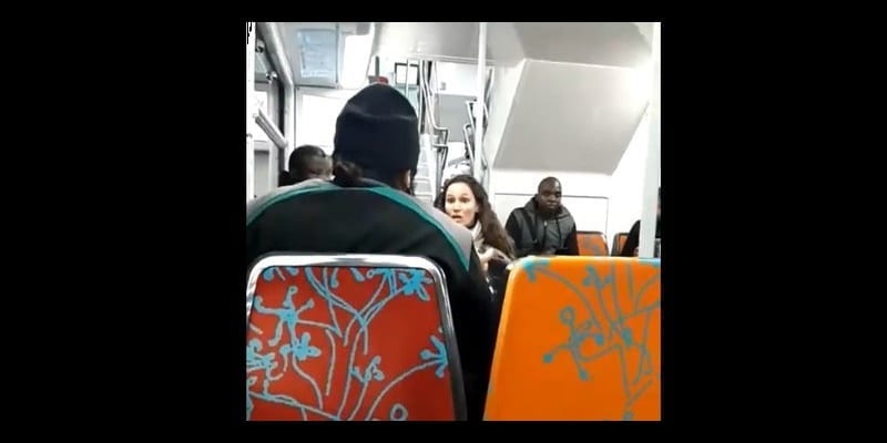 Photo de France : une femme déclare être agressée par la barbe et la tenue d'un musulman…VIDEO