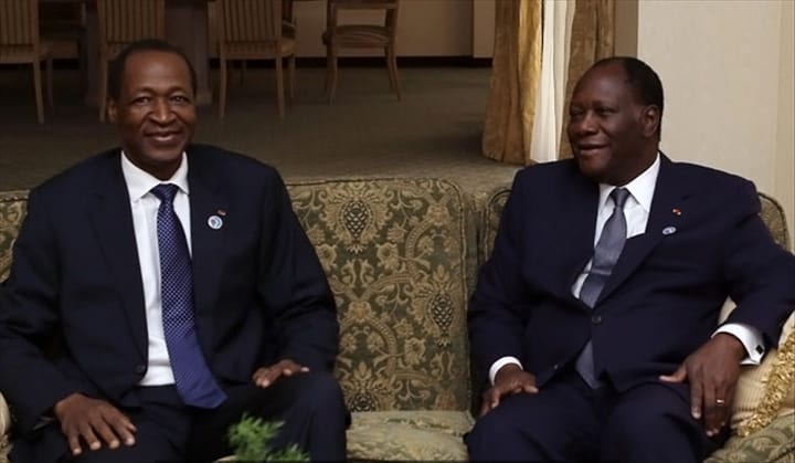 Photo de Ouattara face à un gros dilemme dans l'affaire Compaoré