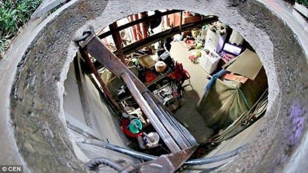 Photo de Chine: Pour ne pas payer le loyer un couple âgé vit dans un puits depuis 10 ans (PHOTOS)