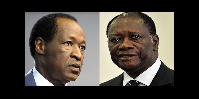 Photo de Côte d'Ivoire : pourquoi Ouattara a rendu visite à Compaoré à son retour de Ouagadougou ?