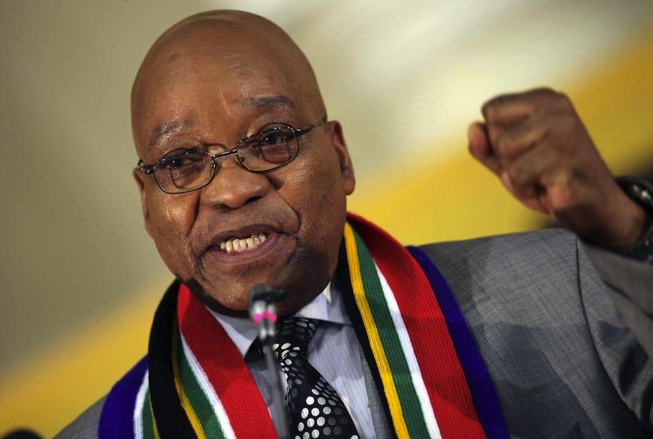Photo de Le président Zuma limoge le ministre des Finances