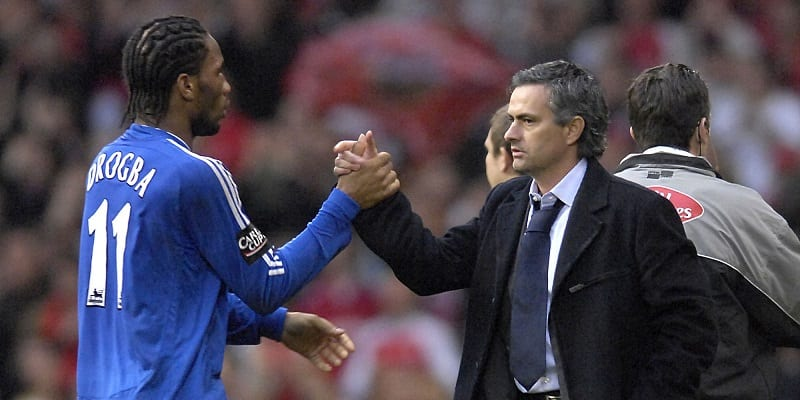 Soccer – Jose Mourinho and Didier Drogba File Photo