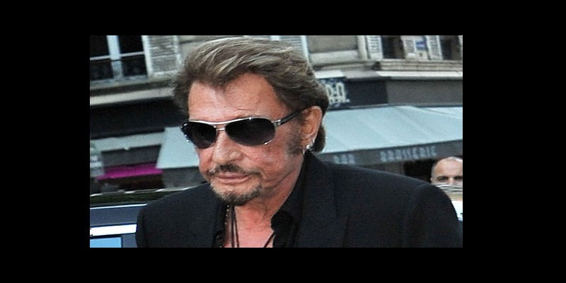 Photo de France : Johnny Hallyday en deuil