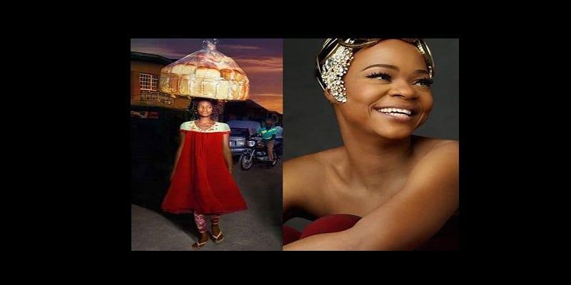 Photo de Nigeria : Une simple photo imprévue, fait d'une vendeuse ambulante mannequin…PHOTOS