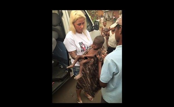 Photo de Nigeria: une Danoise sauve un petit garçon accusé de sorcellerie et laissé pour mort (PHOTOS)