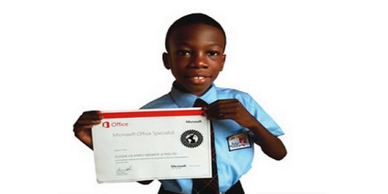 Photo de Inspiration: à 9 ans, il est le plus jeune ingénieur chez Microsoft