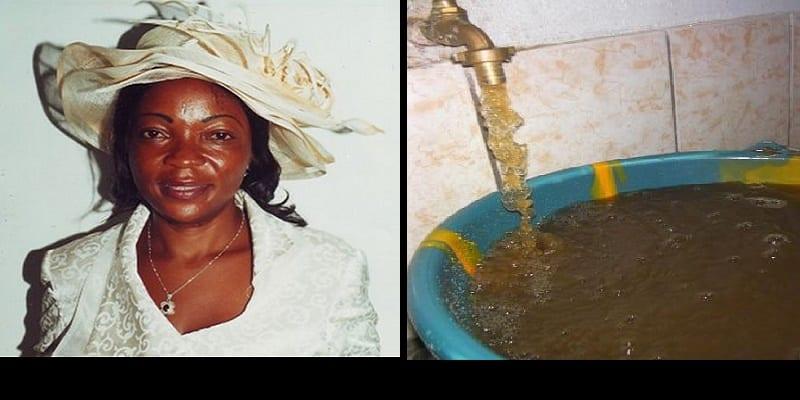 """Photo de Cameroun: Selon Alice Sadio, """"il est interdit de revendiquer de l'eau potable"""""""
