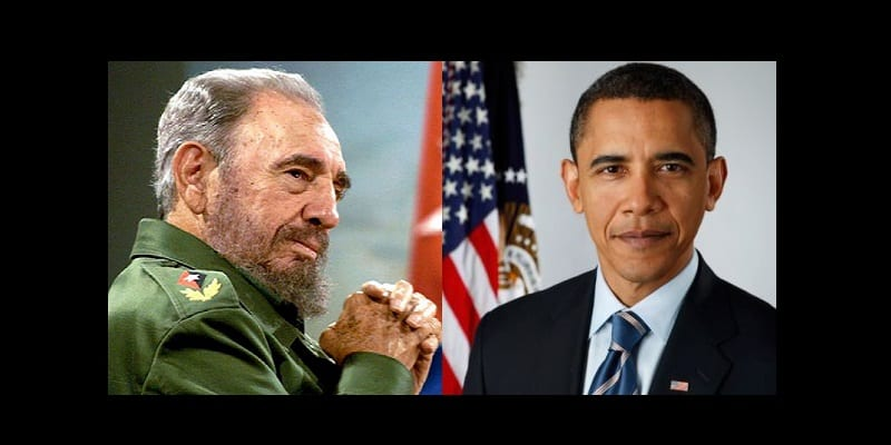 Photo de Cuba : Fidel Castro s'attaque  à Barack Obama suite à sa dernière visite