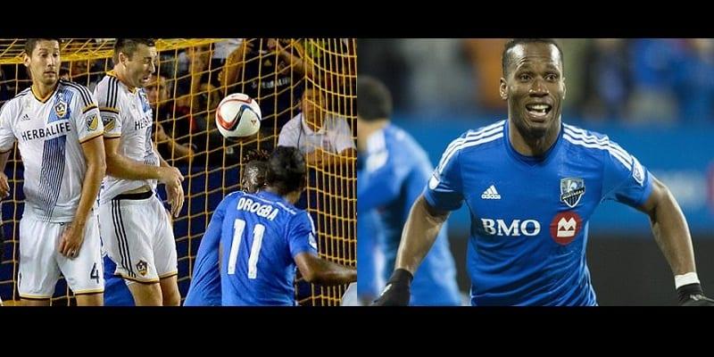 Photo de Comme à Chelsea, Didier Drogba fait la joie de son club l'impact de Montréal