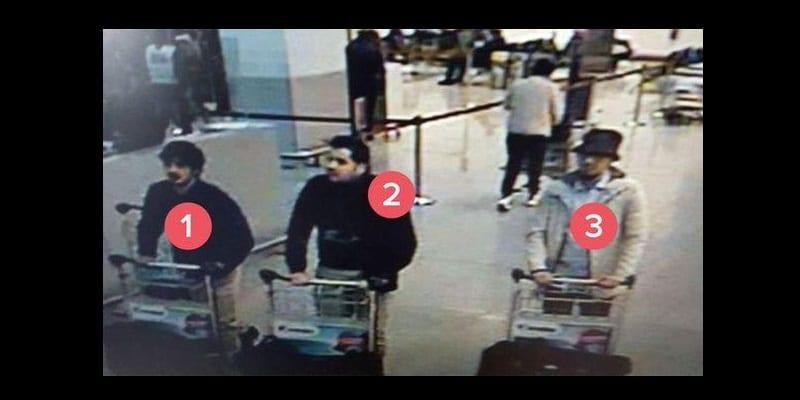 Photo de Attentats à Bruxelles: l'un des kamikazes abandonne 15 kilos d'explosifs et un testament