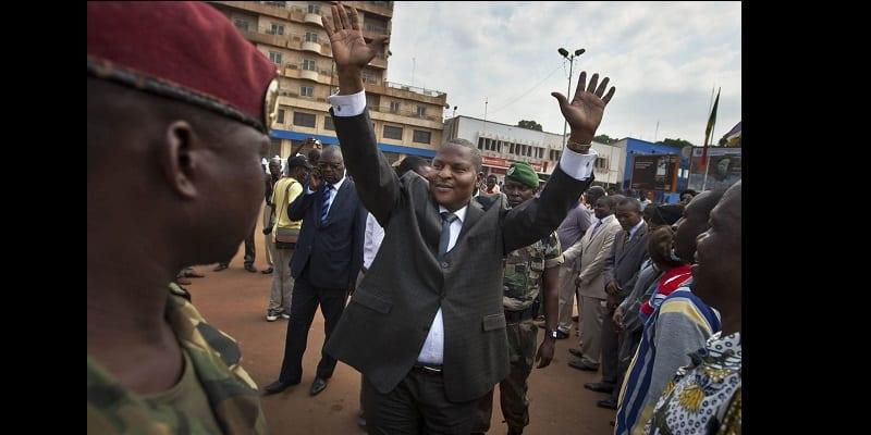Photo de Centrafrique: un président pas comme les autres