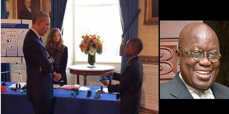 Photo de Ghana: L'opposant Akufo-Addo félicite le jeune génie ghanéen reçu à la maison blanche