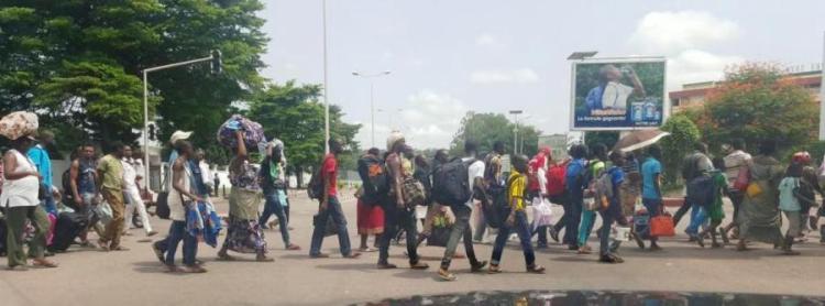Photo de Congo-Brazaville : Nuit calme et reprise du cours de la vie après un lundi trouble