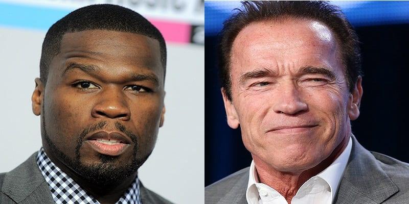 Photo de USA : 50 Cent prêt à se battre aux côtés d'Arnold Schwarzenegger ?