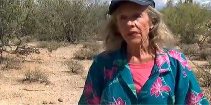 Photo de Perdue dans le désert de l'Arizona, une femme de 72 ans survit pendant neuf jours
