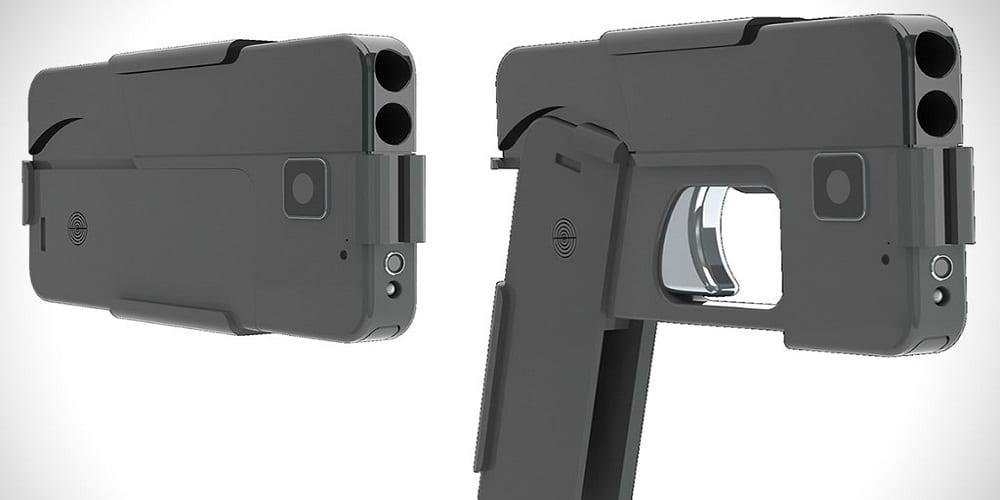 Photo de Un pistolet sous forme de smartphone bientôt commercialisé (Vidéo)