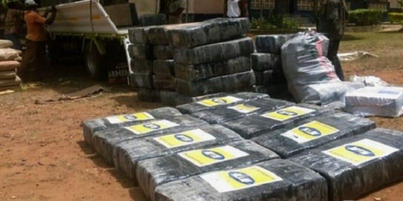 Photo de Ghana: La police saisit des emballages étiquetés «MTN» contenant du chanvre indien