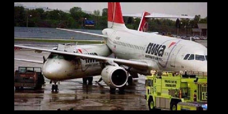 Photo de France: Deux avions entrent en collision au sol à Roissy-Charles de Gaulle