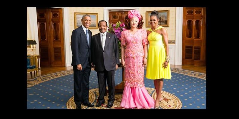 Photo de Obama salue la «détermination» de Biya face à Boko Haram
