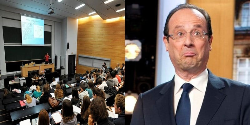 """Photo de """"A quoi sert François Hollande?"""", L'étonnant sujet d'un examen de droit"""