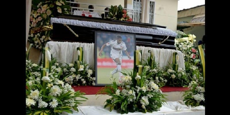 Photo de Découvrez des photos des funérailles de Patrick Ekeng