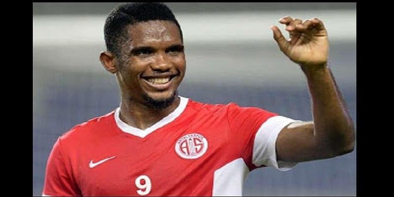 Photo de Samuel Eto'o: il inscrit un but qui vaut 250.000 €