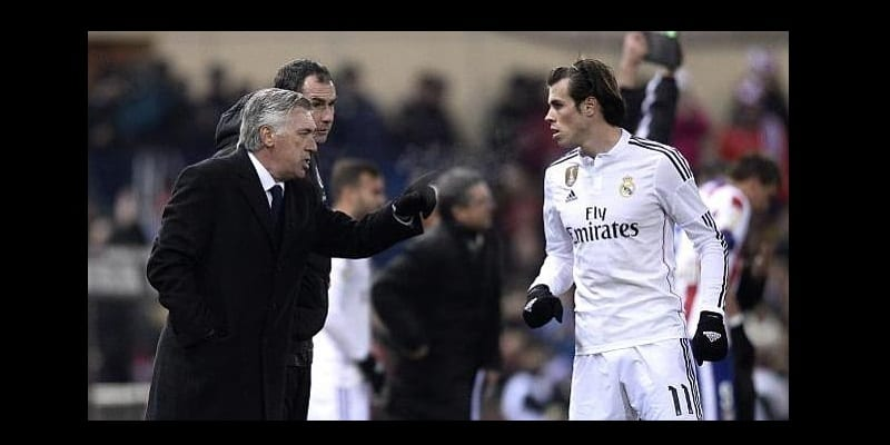 Photo de Real Madrid: Ancelotti revèle une tension qui régnait entre Gareth Bale et lui